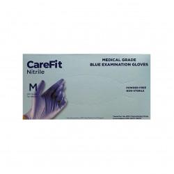 WRP CareFit Blue Medical Grade Nitrile Gloves (Medium)