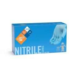 Blue Powder Free Nitrile Gloves (2X-Large)
