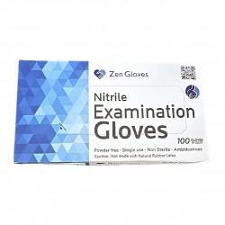 Zen Nitrile Examination Gloves (Large)