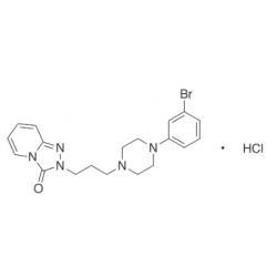 3-Dechloro-3-bromo Trazodone Hydrochloride