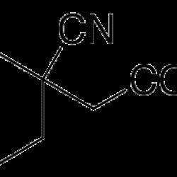 (1-cyanocyclohexyl)acetic acid