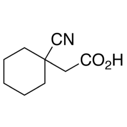 (1-cyanocyclohexyl)acetic acid