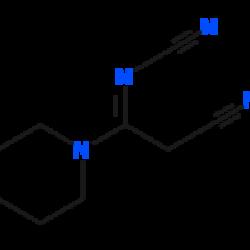 (2-cyano-1-(piperidin-1-yl)ethylidene)cyanamide